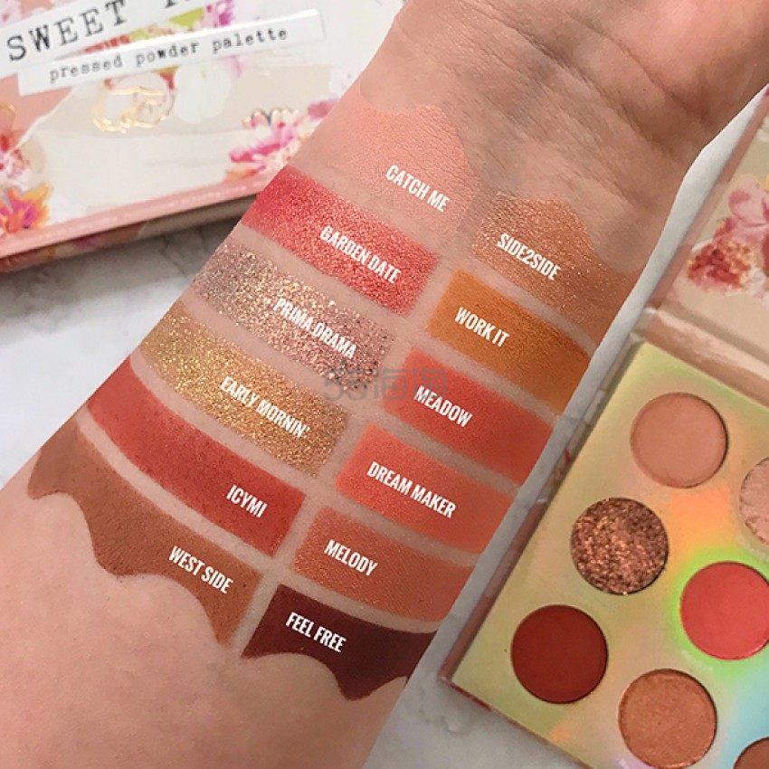 Colourpop 16色眼影盘 SWEET TALK .4(约99元) - 海淘优惠海淘折扣|55海淘网