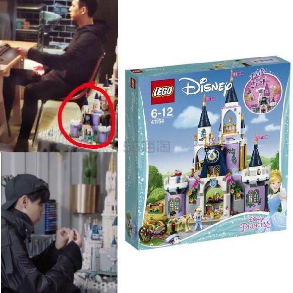 韩商言同款!Lego 乐高 迪士尼公主系列 灰姑娘的梦幻城堡 585粒 6-12岁 €79.25(约611元) - 海淘优惠海淘折扣|55海淘网