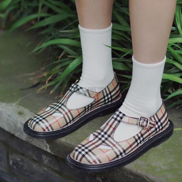 Burberry Kipling Leather Mary Jane Flats 玛丽珍凉鞋 0(约3,576元) - 海淘优惠海淘折扣|55海淘网