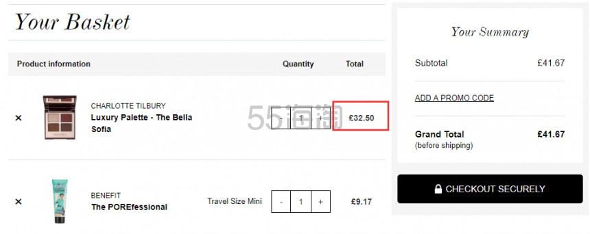 【补货】Charlotte Tilbury CT 四色眼影盘 The Dolce Vita/ The Bella Sofia £32.5(约278元) - 海淘优惠海淘折扣|55海淘网