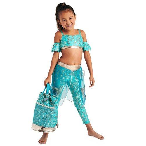 5.7折!Disney 迪士尼 阿拉丁神灯 茉莉公主女孩泳衣套装 .99(约137元) - 海淘优惠海淘折扣|55海淘网