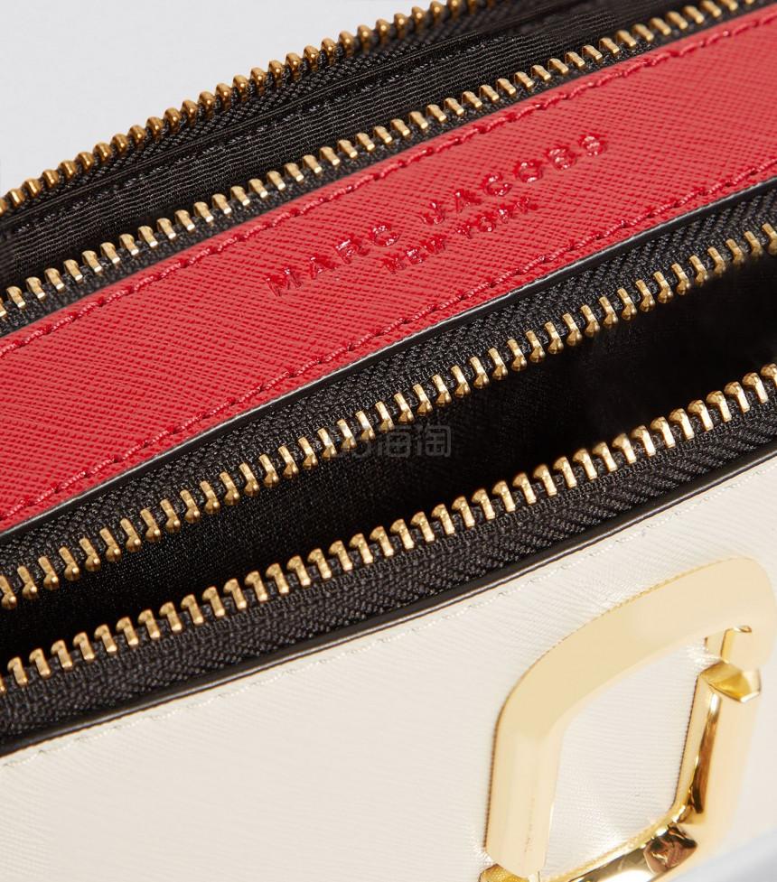 新配色!9折!Marc Jacobs 相机包 白拼红蓝色 ¥2,236.69 - 海淘优惠海淘折扣|55海淘网