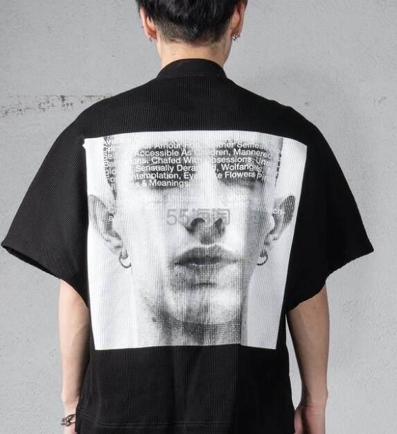 赤西仁喜爱日本潮牌!【限时高返】JULIUS 暗黑短袖T恤 32,400日元(约2,067元) - 海淘优惠海淘折扣|55海淘网