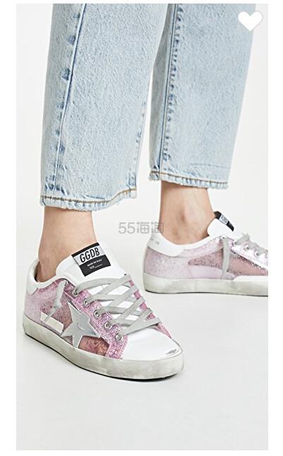 Golden Goose Superstar Sneakers 女款紫色小脏鞋 5(约2,649元) - 海淘优惠海淘折扣|55海淘网