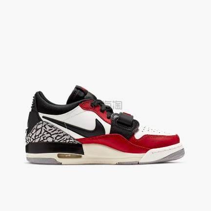 Air Jordan 乔丹 Legacy 312 低帮篮球鞋 大童款 芝加哥红白 0(约688元) - 海淘优惠海淘折扣|55海淘网