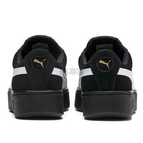 Puma 彪马 Vikky Stacked Suede 女子厚底运动鞋 .99(约275元) - 海淘优惠海淘折扣|55海淘网