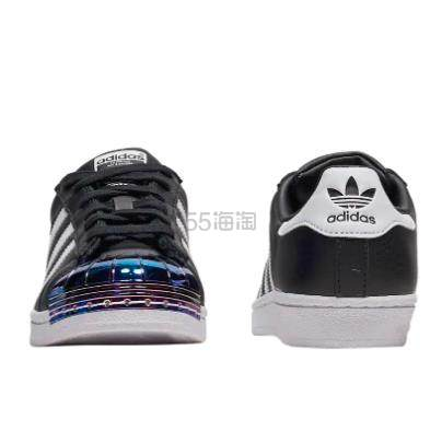 adidas Originals 三叶草 Superstar 女子金属头板鞋 .96(约344元) - 海淘优惠海淘折扣 55海淘网