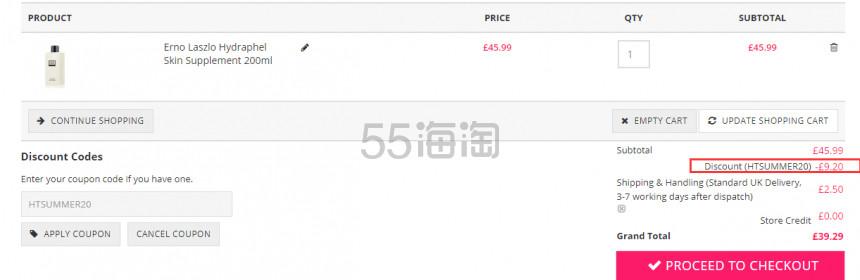 【55专享】Unineed:各路时尚美妆品牌 低至2.5折+额外8折 - 海淘优惠海淘折扣|55海淘网