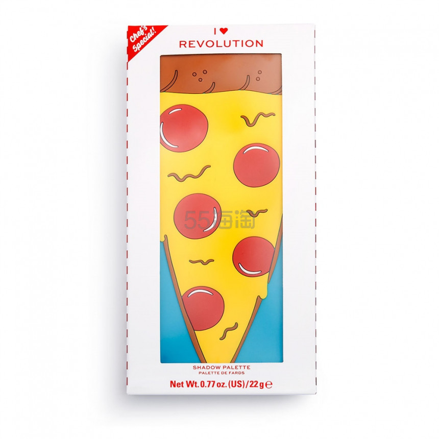 新品!Revolution Tasty 眼影盘系列 Pizza 披萨盘 £10(约85元) - 海淘优惠海淘折扣 55海淘网