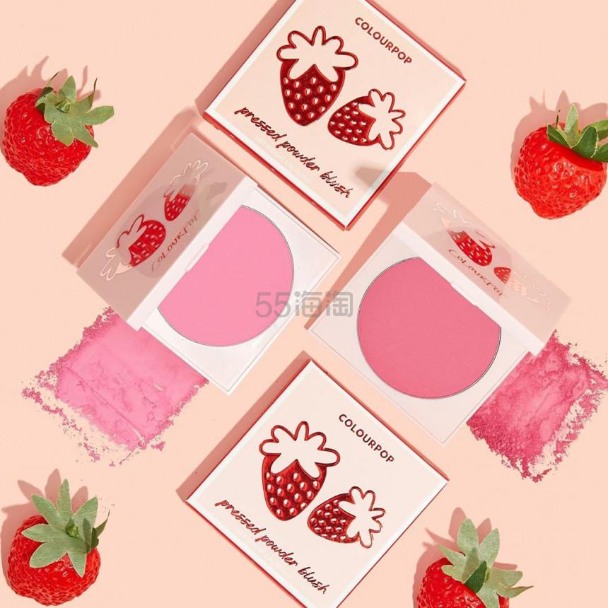 【5姐资讯】Colourpop 新系列彩妆 Strawberry Collection 北京时间8月2日零点上新 - 海淘优惠海淘折扣|55海淘网