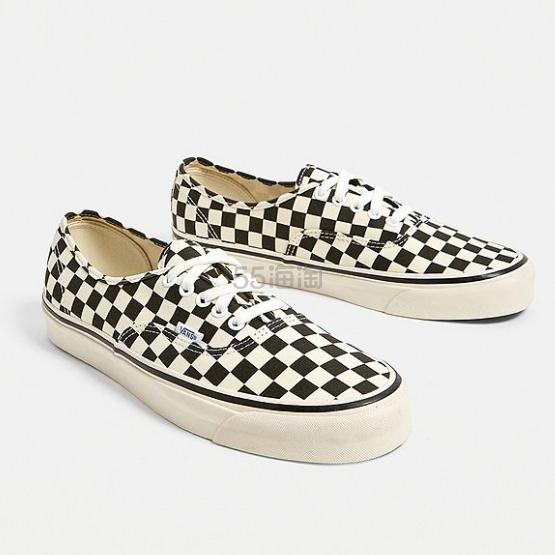 Vans 万斯 Anaheim Factory Authentic 44 DX Checkerboard Trainers 棋格帆布鞋