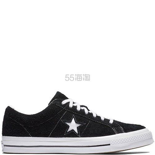 白敬亭同款!Converse 匡威 One Star 黑白色低帮鞋 £39(约329元) - 海淘优惠海淘折扣|55海淘网