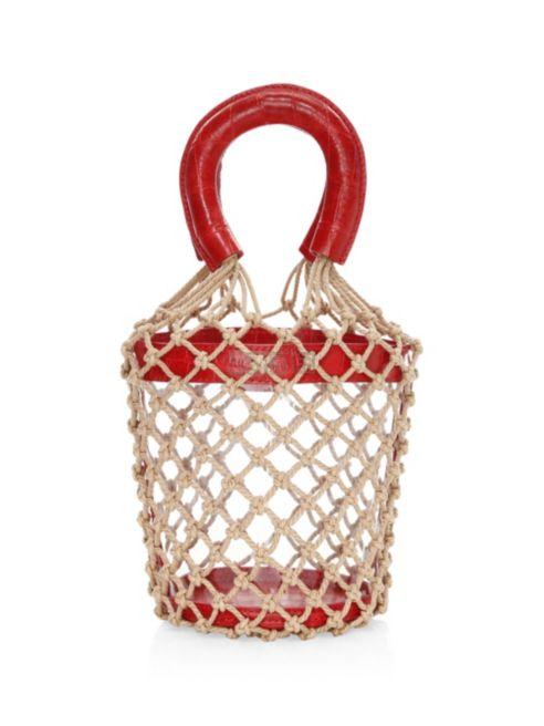 Staud Clear Moreau Bag 篮子包 7.5(约1,603元) - 海淘优惠海淘折扣|55海淘网