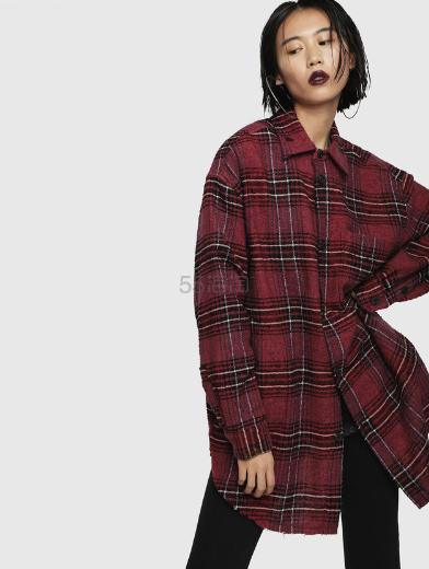 Diesel 格纹法兰绒衬衫外套 4(约874元) - 海淘优惠海淘折扣|55海淘网