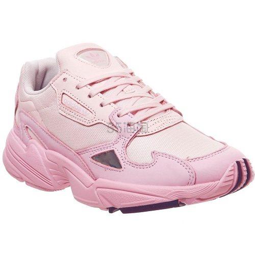 黄金码有!Adidas 阿迪达斯 Falcon 粉色渐变运动鞋 £84.99(约725元) - 海淘优惠海淘折扣|55海淘网