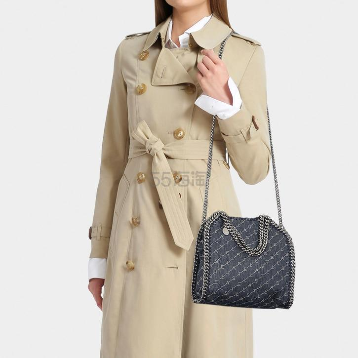 Stella Mccartney Mini Falabella 牛仔印花单肩包 2(约3,473元) - 海淘优惠海淘折扣|55海淘网