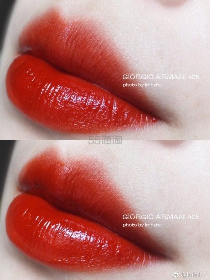【烂番茄色】Giorgio Armani 阿玛尼 红管丝绒唇釉 #405 ¥229.18 - 海淘优惠海淘折扣|55海淘网