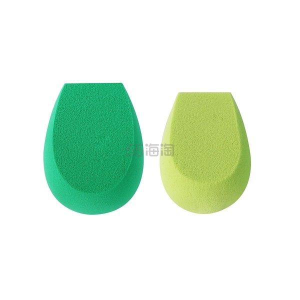 【额外8.8折】最后机会!EcoTools Ecofoam 双重功效海绵 2块 .44(约67元) - 海淘优惠海淘折扣|55海淘网