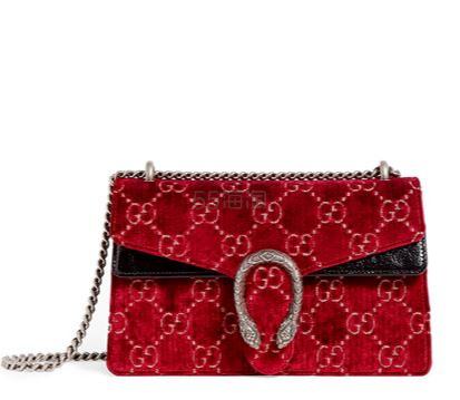 【澳门低定价】Gucci Small Velvet Dionysus 丝绒单肩包 港币13,902.42(约12,494元) - 海淘优惠海淘折扣 55海淘网