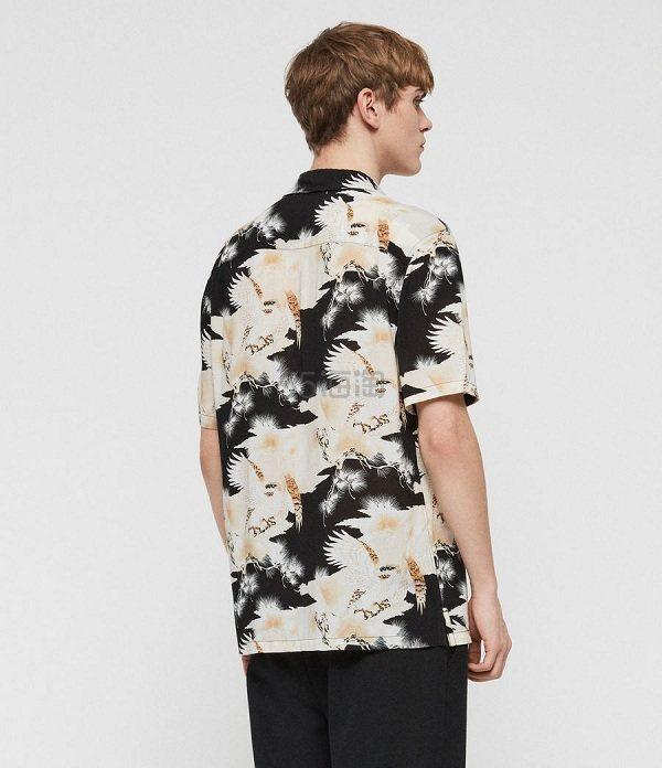 【王一博同款】AllSaints Talon 印花衬衫