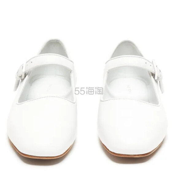 THE ROW Ava 方头真皮玛丽珍鞋 €670(约5,298元) - 海淘优惠海淘折扣|55海淘网