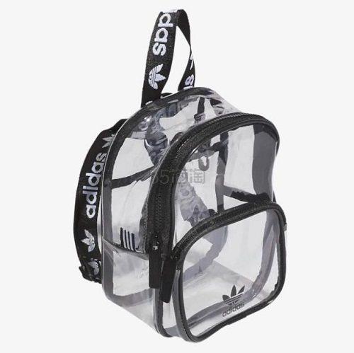 Adidas originals 三叶草 Clear 透明双肩包 .25(约185元) - 海淘优惠海淘折扣|55海淘网