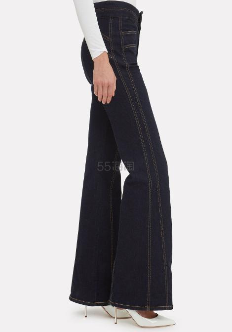 Veronica Beard 微卡阔腿牛仔长裤 (约697元) - 海淘优惠海淘折扣|55海淘网