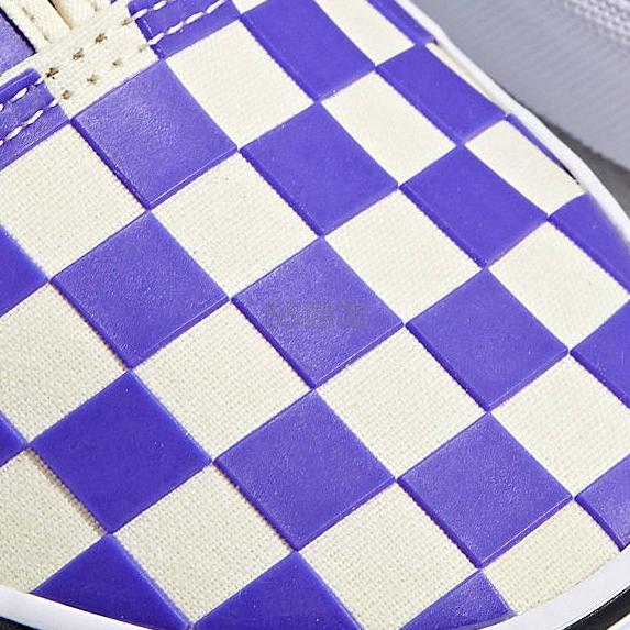 Vans 万斯 Authentic Thermochrome 紫色塑料小方格帆布鞋