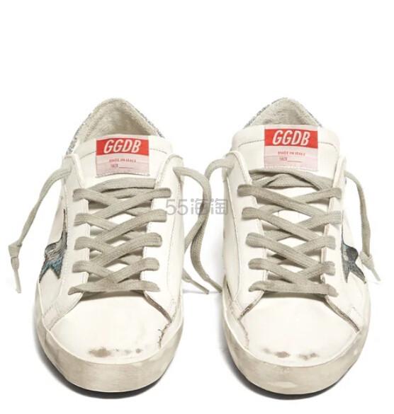 GOLDEN GOOSE Superstar 银尾小脏鞋 €320(约2,519元) - 海淘优惠海淘折扣|55海淘网