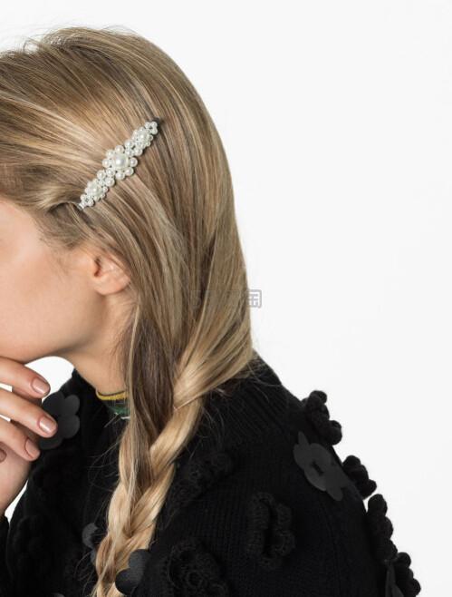 SIMONE ROCHA 仿珍珠发夹 多色可选 港币590(约529元) - 海淘优惠海淘折扣|55海淘网
