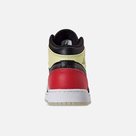 乔丹 Air Jordan 1 Mid SE 大童款篮球鞋 黑粉 (约563元) - 海淘优惠海淘折扣|55海淘网