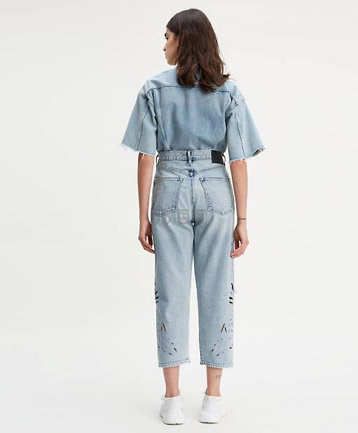 Levis 李维斯  MADE & CRAFTED 镂空直筒牛仔裤 .97(约281元) - 海淘优惠海淘折扣|55海淘网