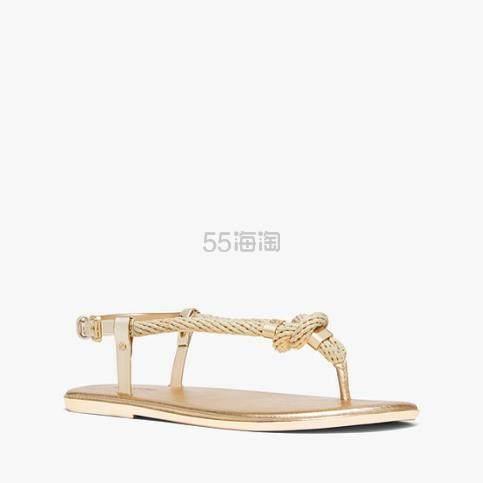 Michael Kors Holly 女子麻绳平底凉鞋 (约204元) - 海淘优惠海淘折扣|55海淘网