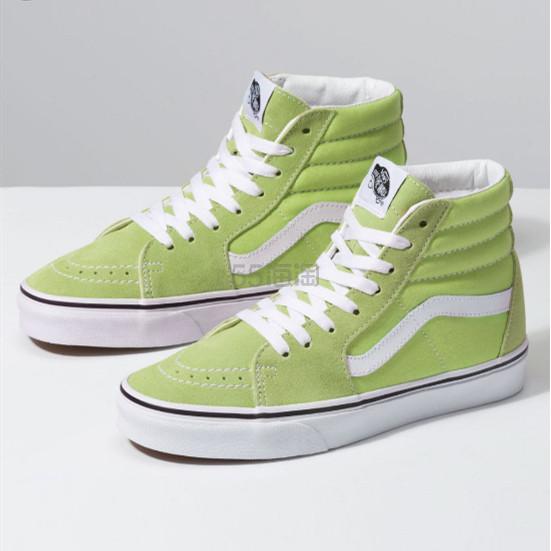 黄金码有!Vans 万斯 Sk8-Hi 绿色高帮鞋 .49(约320元) - 海淘优惠海淘折扣|55海淘网