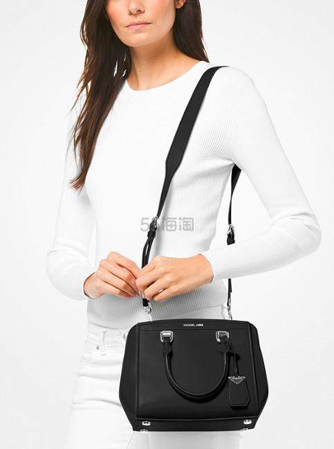 Michael Kors Benning 真皮手袋 中号 4.8(约809元) - 海淘优惠海淘折扣|55海淘网
