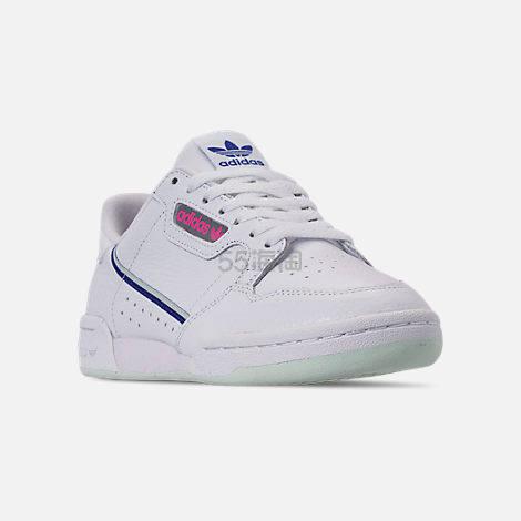adidas Originals 三叶草 Continental 80 女子板鞋 (约247元) - 海淘优惠海淘折扣 55海淘网