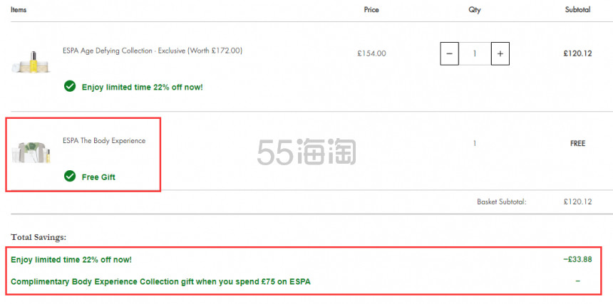 Beauty Expert:ESPA Skincare 英国小众奢华水疗品牌 7.8折+满额送价值£34礼包! - 海淘优惠海淘折扣|55海淘网