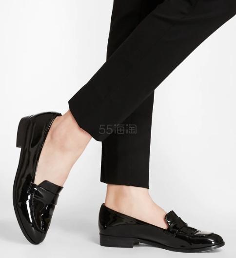 Brooks Brothers 女士漆皮基础款乐福鞋 4.25(约736元) - 海淘优惠海淘折扣|55海淘网