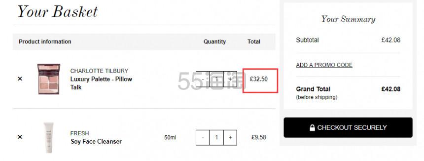 【可直邮】补货!Charlotte Tilbury CT 四色眼影盘 Pillow Talk £32.5(约279元) - 海淘优惠海淘折扣|55海淘网