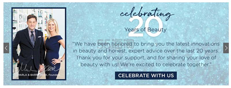 Bluemercury : 全线彩妆个护香氛 购物满0即送20周年庆豪华大礼包 - 海淘优惠海淘折扣|55海淘网