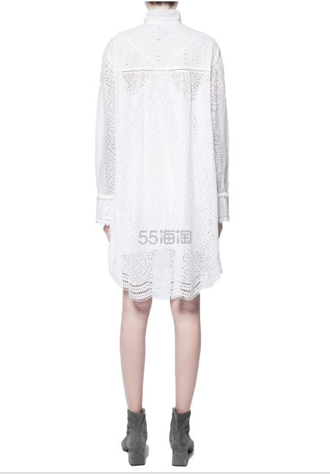 Zadig & Voltaire 刺绣蕾丝镂空连衣裙 ¥2,632 - 海淘优惠海淘折扣|55海淘网