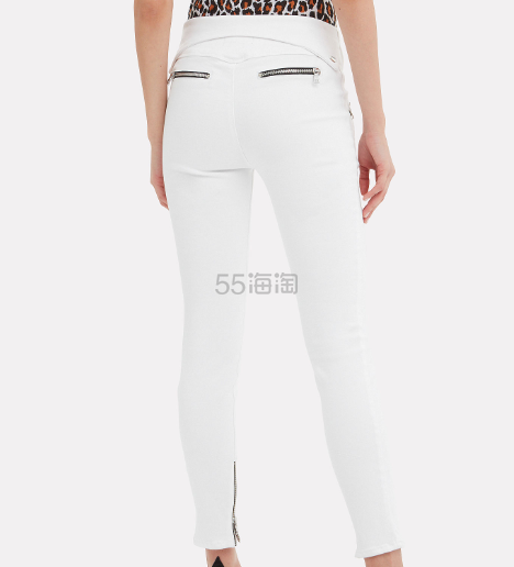 RtA 拉链裤腰装饰修身牛仔裤 9(约1,428元) - 海淘优惠海淘折扣|55海淘网