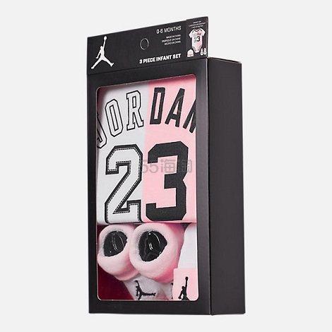【限时高返15%】Air Jordan 乔丹 婴儿三件套