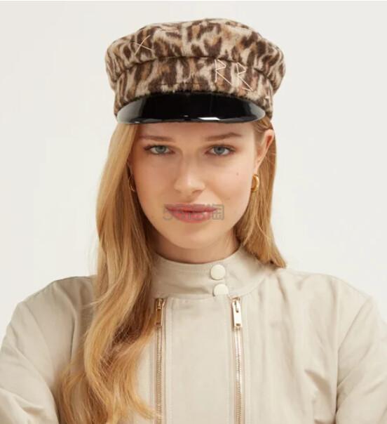 RUSLAN BAGINSKIY 豹纹报童帽 €112(约884元) - 海淘优惠海淘折扣 55海淘网