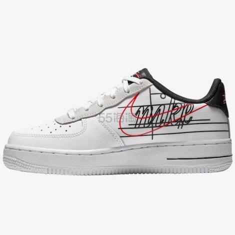 Nike 耐克 Air Force 1 Low 大童款板鞋 (约536元) - 海淘优惠海淘折扣|55海淘网