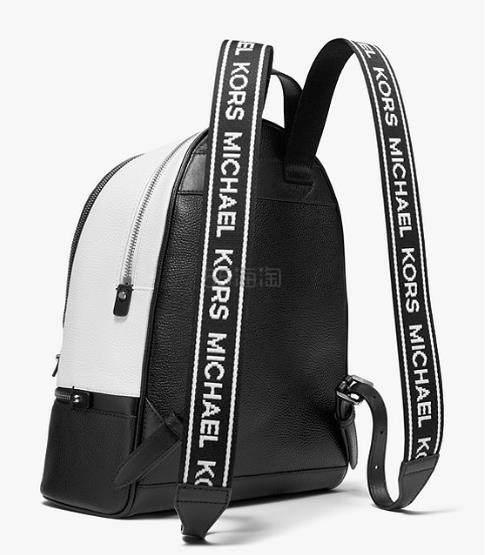 Michael Kors Rhea logo拼色双肩包 中号