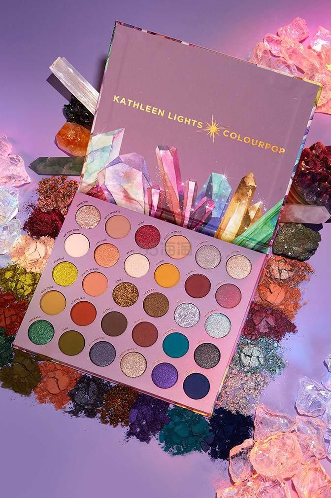 Kathleen Lights × Colourpop 合作眼影盘 so jaded (约277元) - 海淘优惠海淘折扣|55海淘网