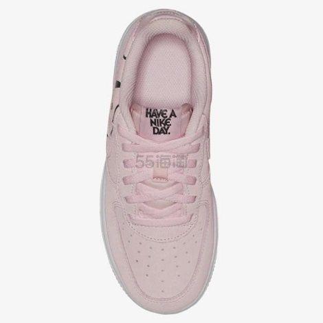 【小码福利】Nike 耐克 Air Force 1 笑脸板鞋 中童款 .99(约284元) - 海淘优惠海淘折扣|55海淘网