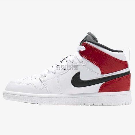 【小脚福利】Air Jordan 1 Mid 小芝加哥 中童款篮球鞋 (约462元) - 海淘优惠海淘折扣|55海淘网