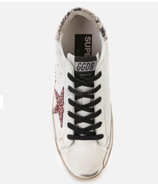 【码全 一双免邮】Golden Goose 蛇纹亮片星星小脏鞋 ¥2,304.8 - 海淘优惠海淘折扣|55海淘网
